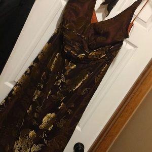 24W Gold Formal dress